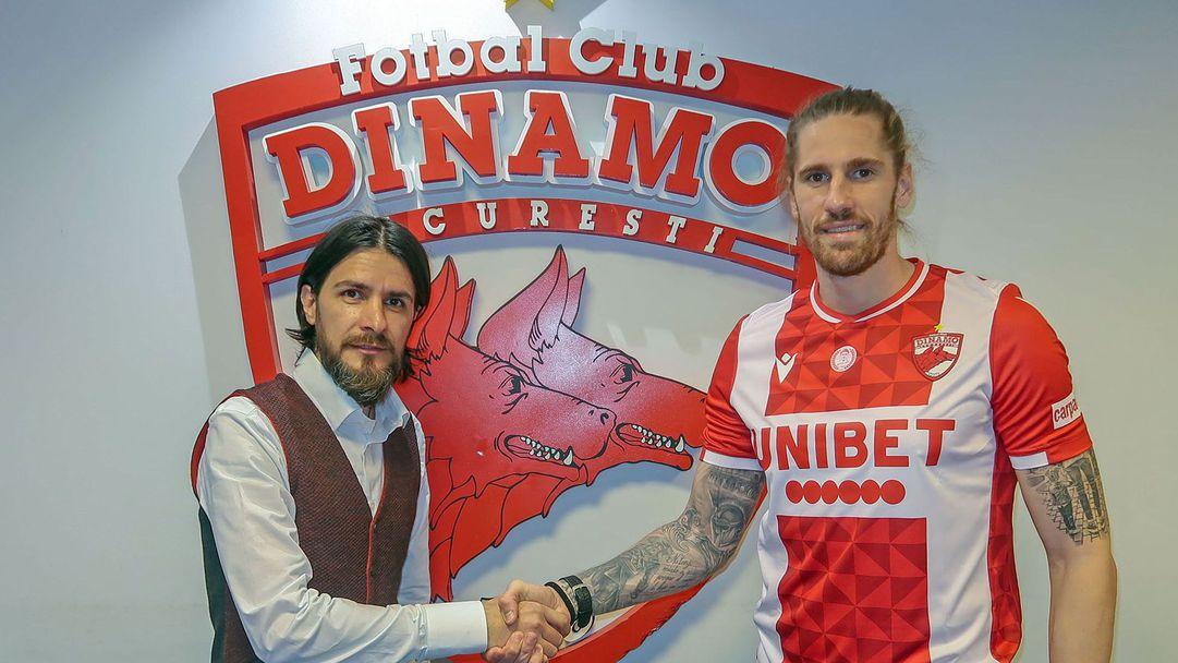 Раул Албентоса подписа с Динамо (Букурещ)