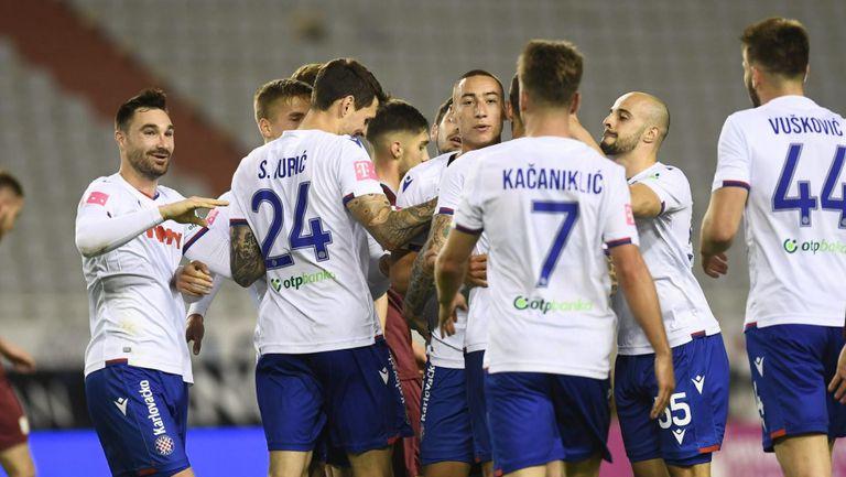 Хайдук ликува в адриатическото дерби, Динамо е все по-близо до титлата (видео)