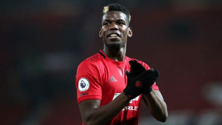 Погба отново създава проблеми на Ман Юнайтед
