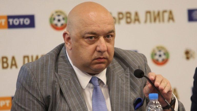 Красен Кралев: Правим мащабна проверка на БФС, очаквам да приключи в края на януари