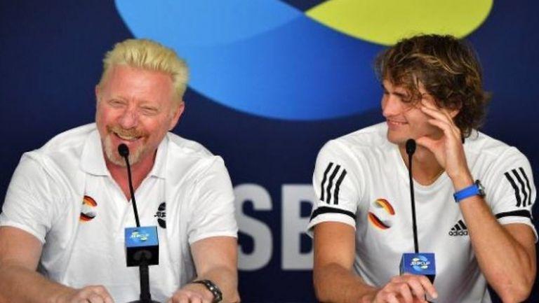 Зверев: С Борис Бекер можем да спечелим титлата на ATP Cup