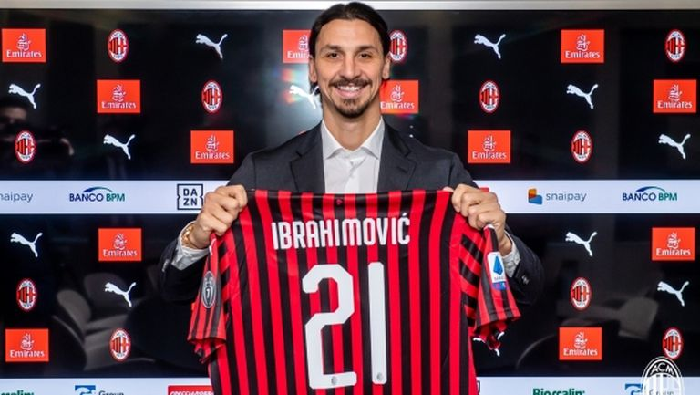 Милан изненада с номера на Ибрахимович, той разкри причината