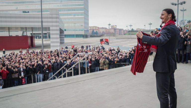 Никой да не се крие зад гърба на Златан, призова шеф на Милан