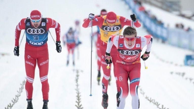 """Йоханес Клаебо спечели масовия старт във Вал ди Фиеме и запази шансове за триумф в """"Тур дьо ски"""" (видео)"""