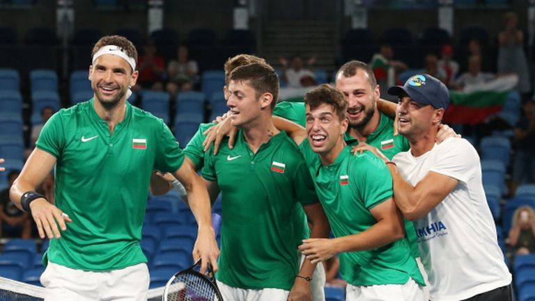 Ето кога започва битката България - Молдова от ATP Cup