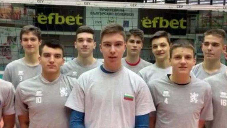 Националният отбор на България U18 с две контроли срещу националите U20