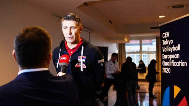 Слободан Ковач: Ще се опитаме да повторим добрия си резултат от Евроволей 2019