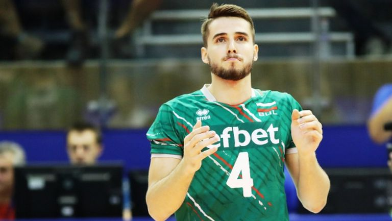 CEV: Мартин Атанасов - символ на младото поколение в България