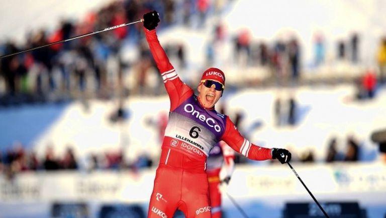 Двоен триумф за Русия в Тур дьо ски при мъжете