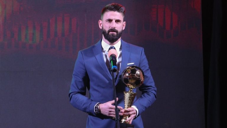 Димитър Илиев е най-добрият нападател в България за 2019 година