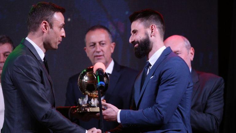 """Куриоз! За първи път играч без нито един мач за България стана """"Футболист на годината"""""""
