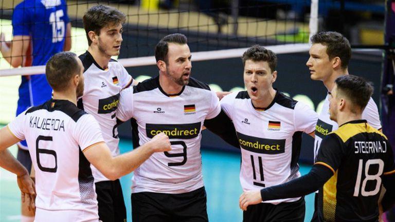 Германия без проблеми срещу Чехия на олимпийската квалификация (видео + снимки)
