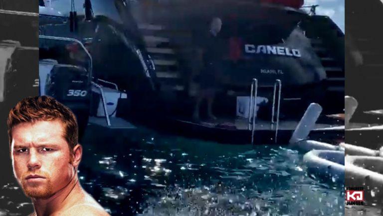 Канело се изфука с яхта за $60 млн.