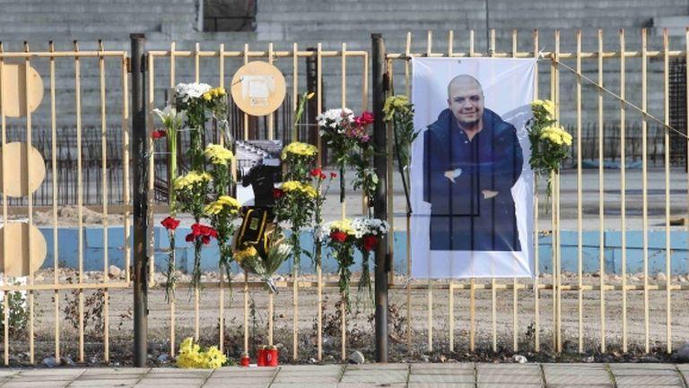"""Феновете на Ботев (Пд) почитат паметта на загиналия си събрат на """"Колежа"""""""
