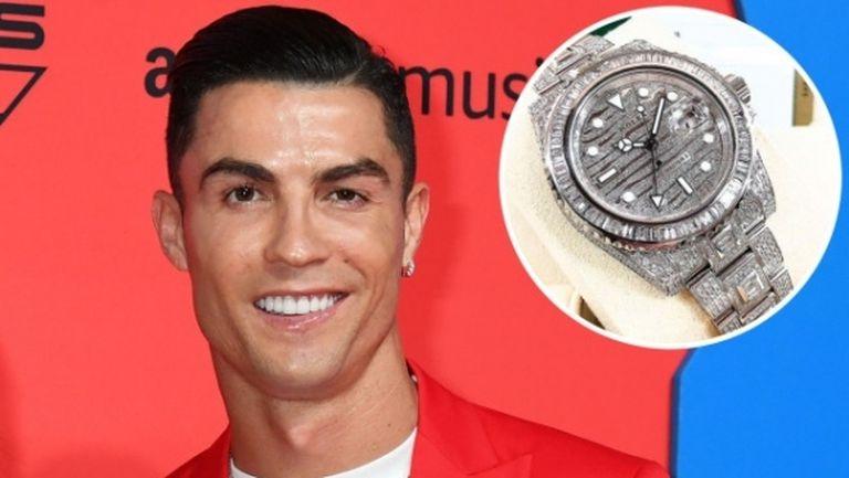Роналдо блесна с часовник за половин милион долара
