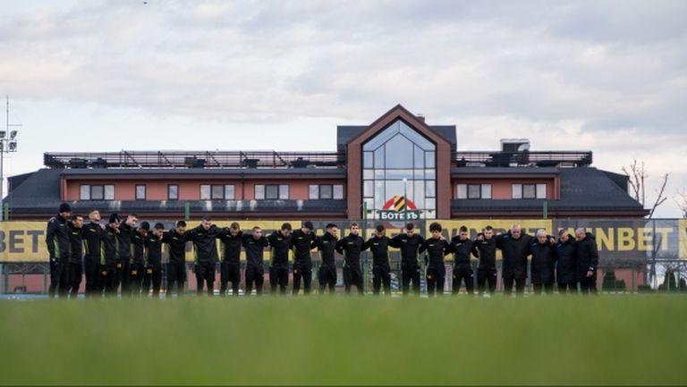 Ботев стартира зимната си подготовка с група от 18 футболисти