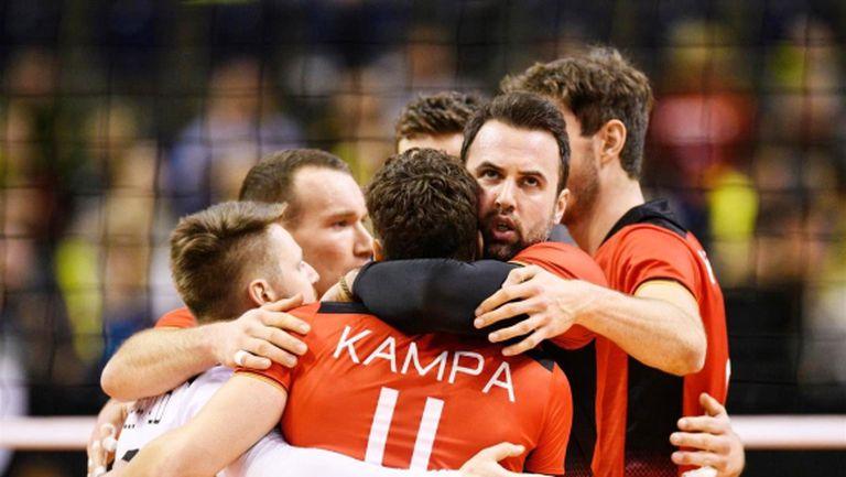 Германия на един гейм от полуфиналите на олимпийската квалификация (видео + снимки)