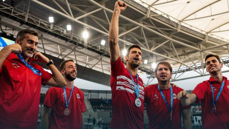 Нова победа за Сърбия, Испания спечели групата си на ATP Cup