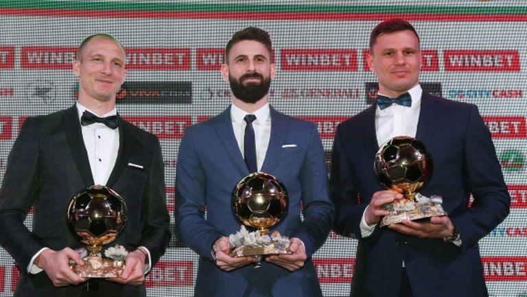 """Ето как гласуваха журналистите от различните медии за """"Футболист на годината"""""""
