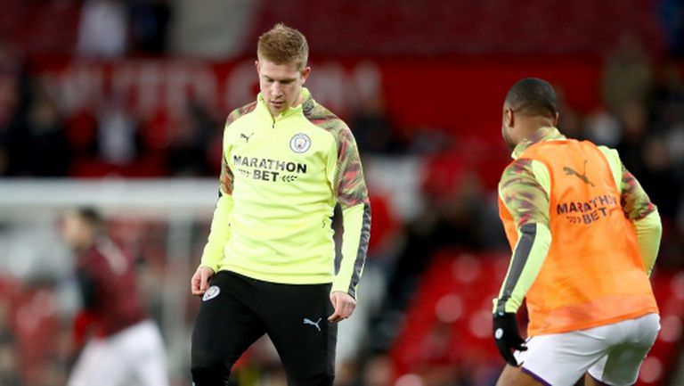 Сити тренирали само 15 минути схемата, с която отнесоха Юнайтед