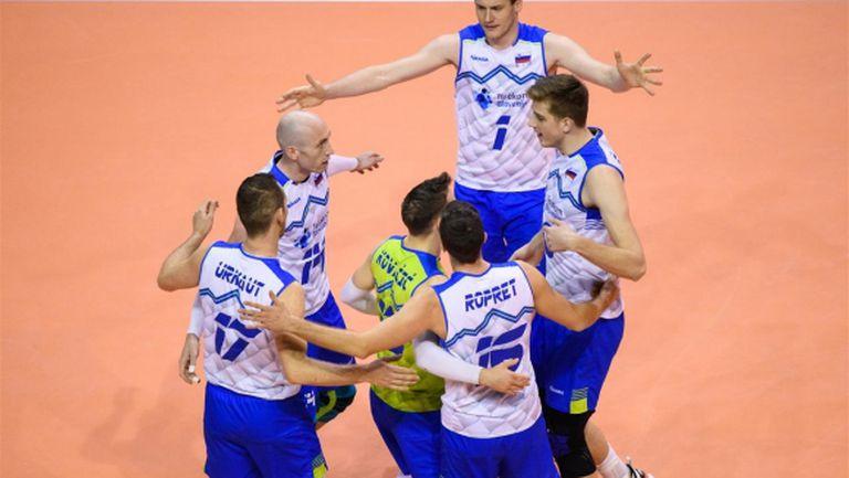 Словения би Чехия и прати Германия на полуфинал с България в Берлин (видео + снимки)