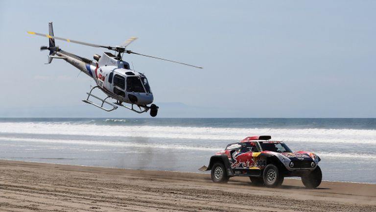 Стефан Петерханзел с Mini спечели четвъртия етап от Рали Дакар