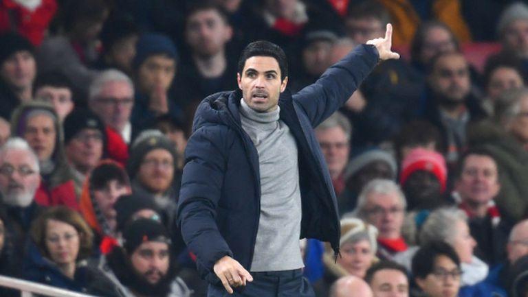Артета очаква спокоен трансферен прозорец за Арсенал