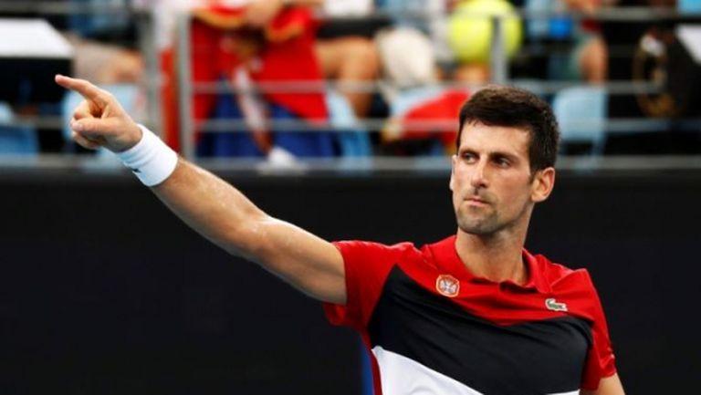 Сърбия се класира за полуфиналите на ATP Cup