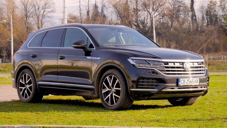 Volkswagen Touareg – премини на следващото ниво