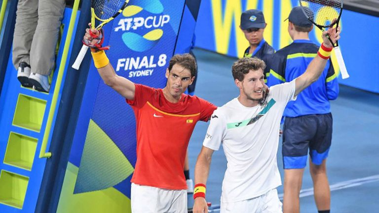 Гофен победи Надал, но испанците се промъкнаха на 1/2-финалите на ATP Cup