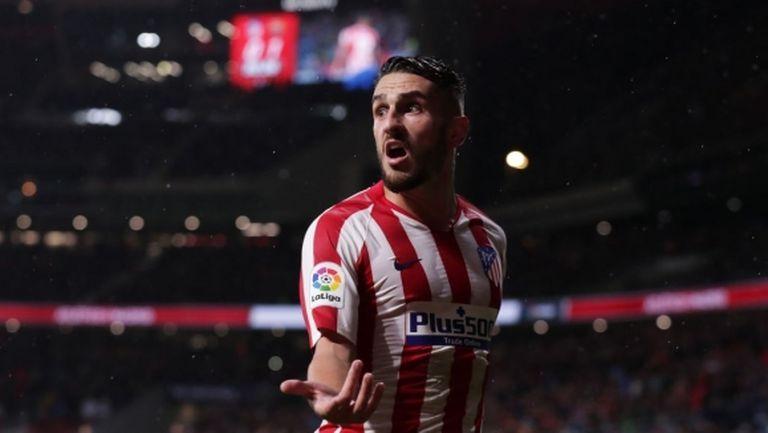 Капитанът на Атлетико ще се включи само в награждаването