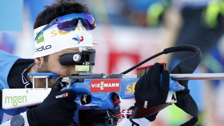 Фуркад спечели спринта в Оберхоф, Анев завърши на 33-и, а Владимир Илиев е 37-и