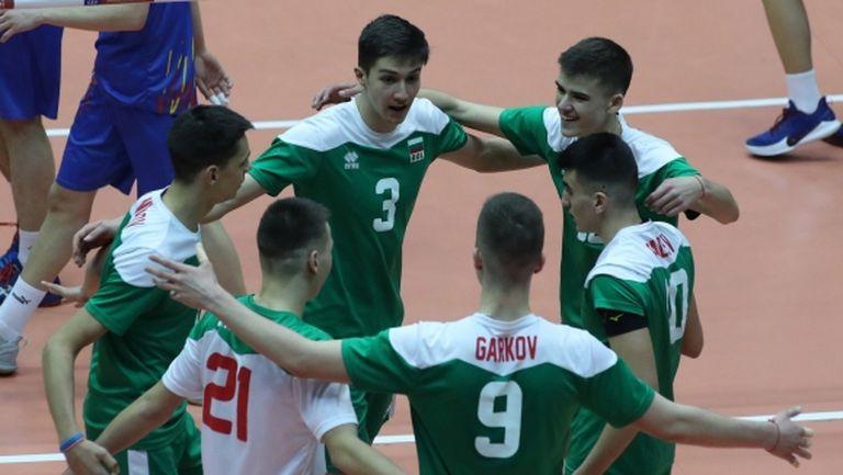България U18 разгроми Румъния на евроквалификацията в София (видео + галерия)