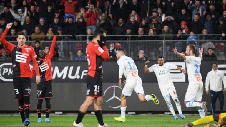 Марсилия се приближи на 4 точки от лидера ПСЖ