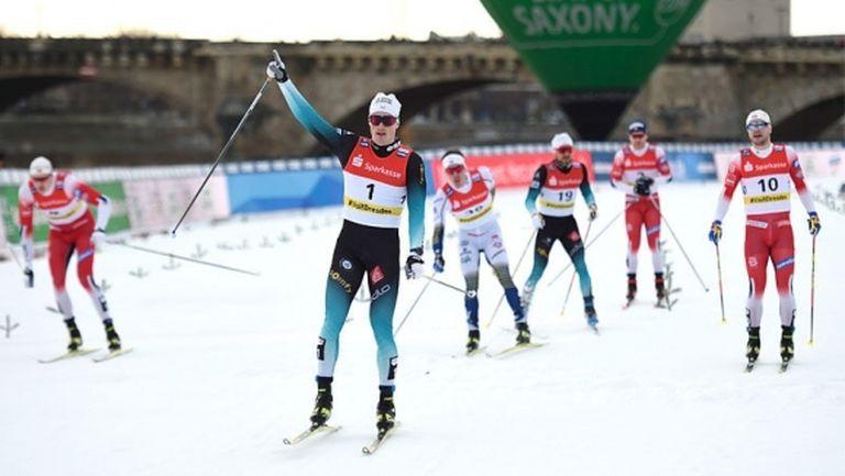 Шанава спечели спринта в Дрезден и оглави класирането в дисциплината