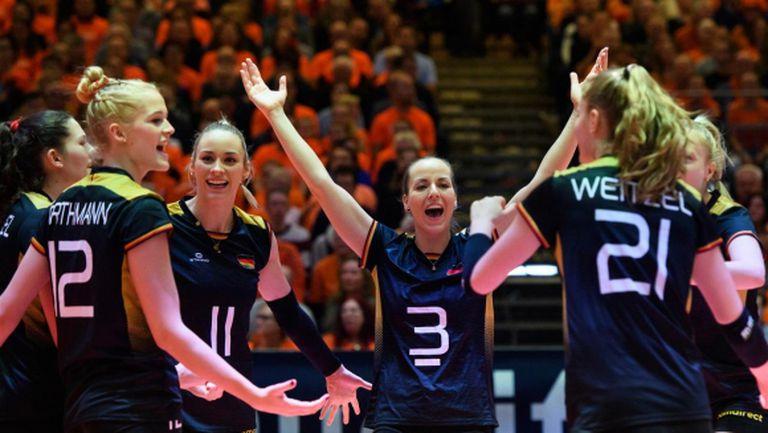 Германия не остави шансове на Нидерландия и е на финал в Апелдоорн (видео + снимки)