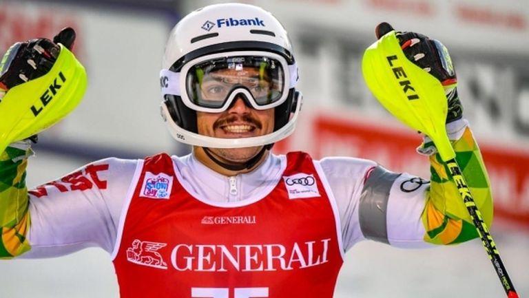 Алберт Попов се класира за втория манш в слалома от СК в Аделбоден, Камен Златков с 46-о място