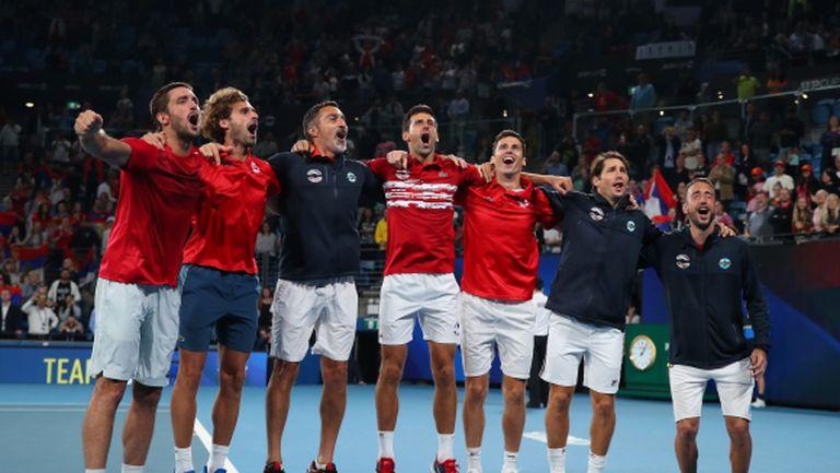 Сърбия триумфира в първото издание на ATP Cup