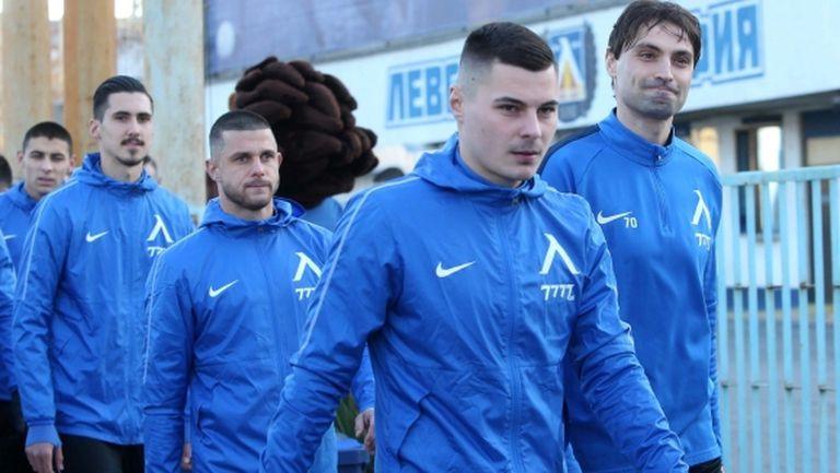 Левски се разделя с едно от летните си попълнения, Хубчев не го взе в Сандански