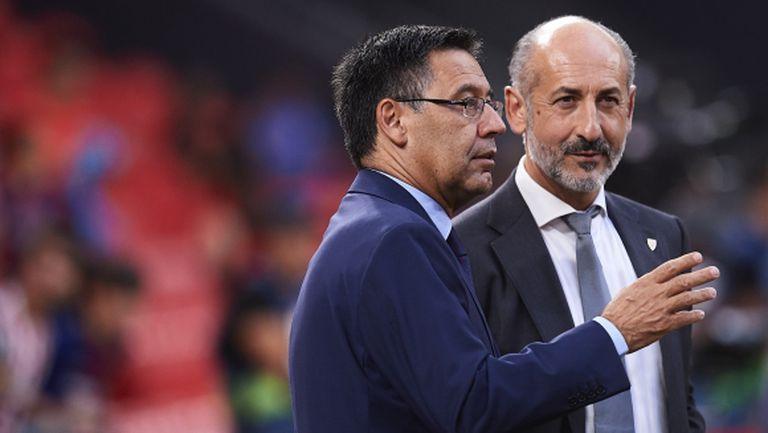 Барселона се подсигури при провал с новия наставник