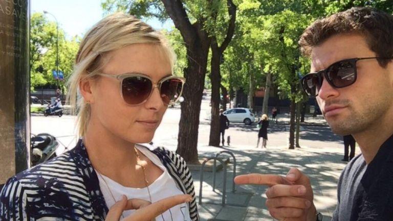 Мария Шарапова не хареса жълтите шорти на Григор