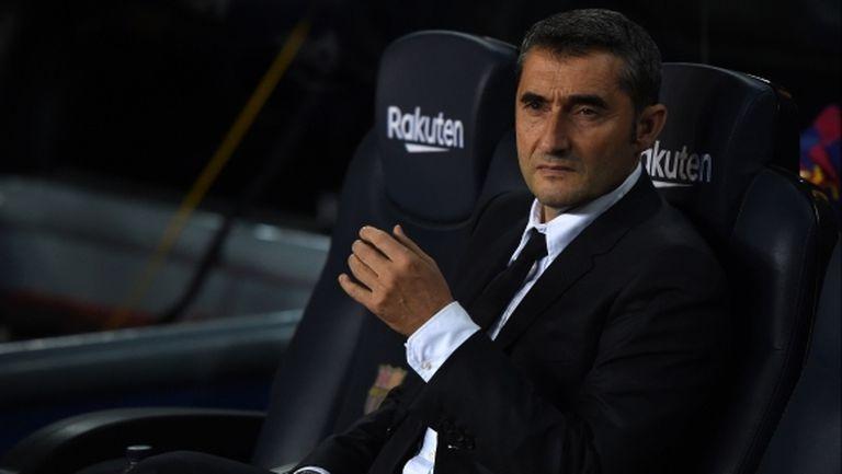 С уволнението на Валверде Барса създаде прецедент за последните 28 години в Ла Лига