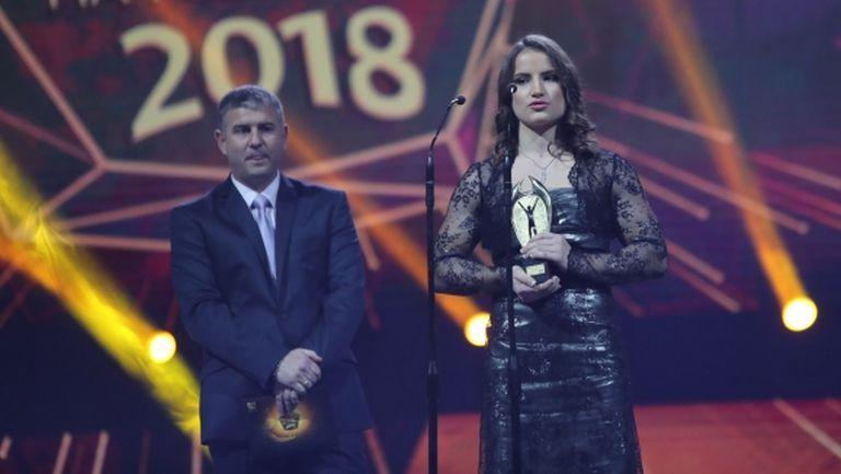 Биляна Дудова е спортист на годината в Русе