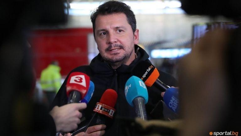 Крушчич: Не искам бек, защото имам Турицов, и да не дойдат нови, нищо страшно не се е случило (видео)