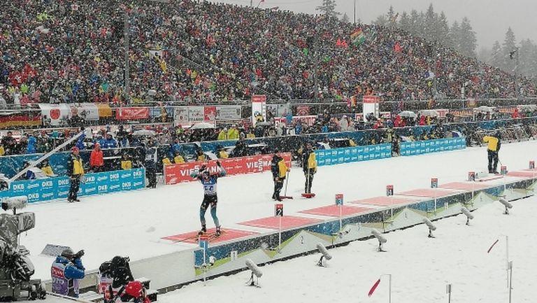 Франция с категорична победа в щафетата в Руполдинг, България не се приспособи добре към снеговалежа