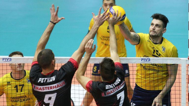 Носителят на Купата срещу шампиона на финал в Бургас