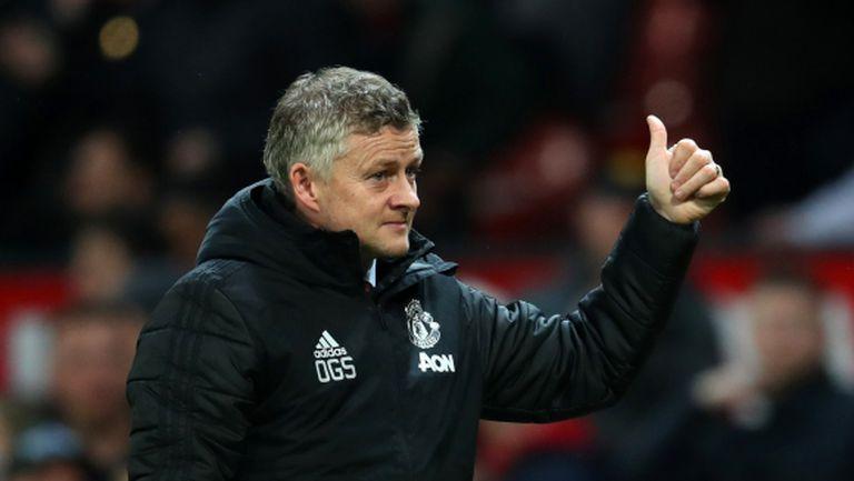 Манчестър Юнайтед се развива, убеден е Солскяер
