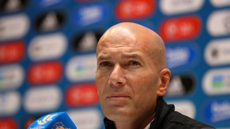 Зидан: Реал Мадрид не се нуждае от нови футболисти