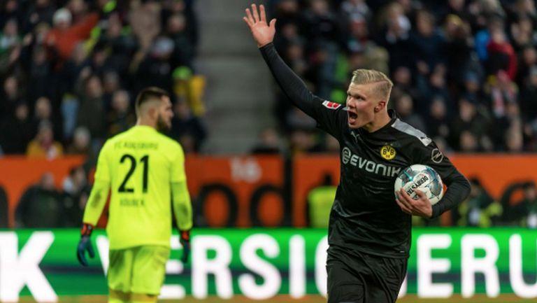 Холанд с приемлива откупна клауза в Дортмунд