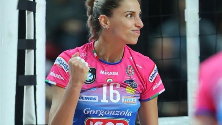 Елица Василева и Новара с чиста победа в Шампионската лига (снимки)